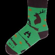 Ponožky - Myslivec - velikost 43-46