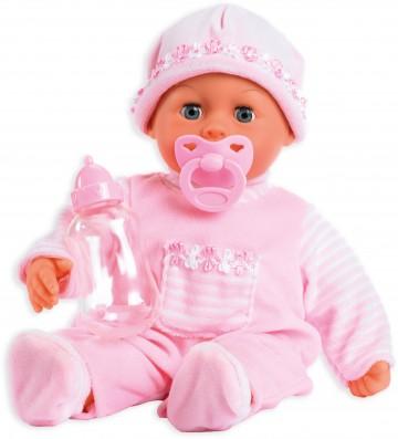 Panenka Bayer First Words Baby 38cm