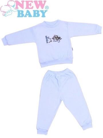 Dětské froté pyžamo New Baby modré