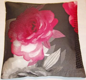 Povlak na polštářek bavlněný satén Royal pink 40/40