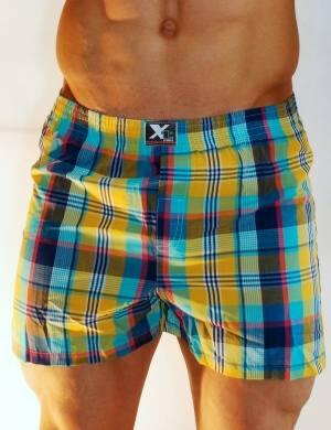 Pánské trenýrky Xtremen Outdoor Shorts Boxer TV 15, Velikost oblečení L