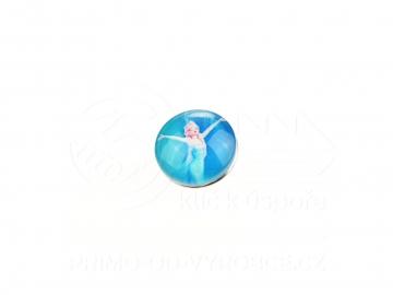 Ozdobný patent na náramek - Frozen 11