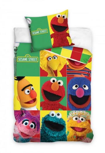 Povlečení Sesame Street kostky 140/200 cm