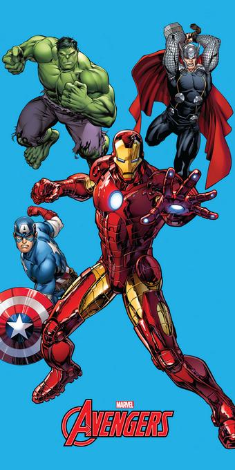 Plážová osuška Avengers 75/150