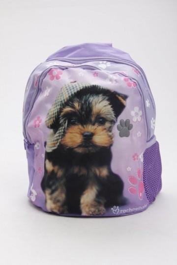 Junior batoh pejsek fialový