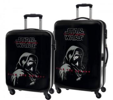 Sada cestovních kufrů ABS Star Wars Kylo Ren 55/69 cm