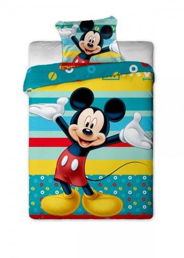 Povlečení Mickey tyrkys 140/200