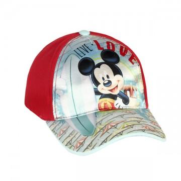 Kšiltovka Mickey červená vel. 54