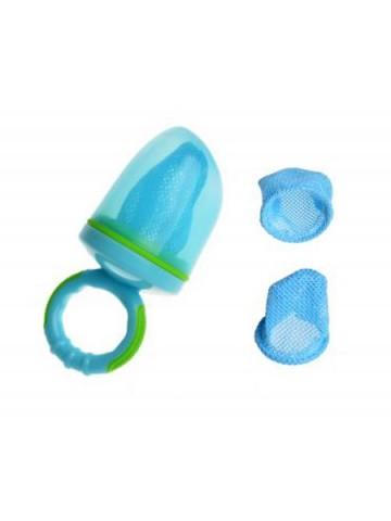 Dětská krmící síťka na potraviny Akuku modrá