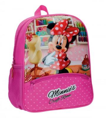Junior batoh Minnie Craft Room 33 cm