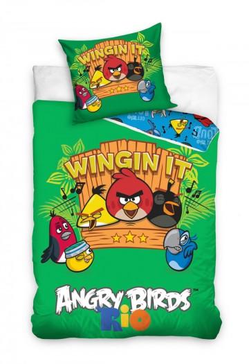 Povlečení Angry Birds Rio hudba 140/200