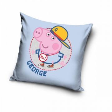 Povlak na polštářek Peppa Pig George 40/40 cm