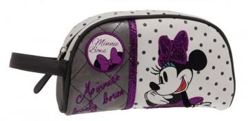 Luxusní kosmetická taštička Minnie Mašle 21 cm