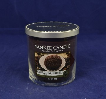 Yankee Candle Décor malý 198g Cappuccino Truffle