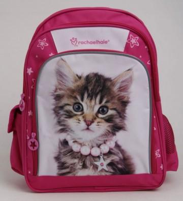 Školní batoh Rachael Hale Kotě růžový