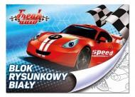 BENIAMIN Blok na kreslení s omalovánkami Závodní Auto Papír, 29x21 cm