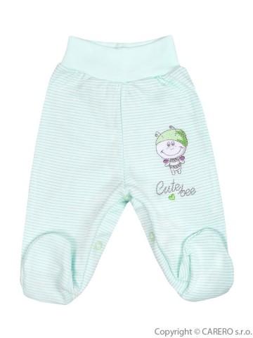 Dojčenské polodupačky Koala Vilko zelené