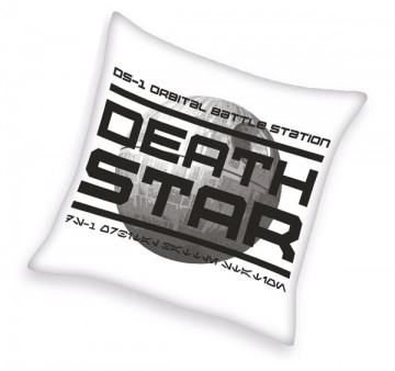 Polštářek Star Wars Hvězda Smrti 40/40 cm