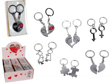 Zamilované klíčenky - 2 ks v balení