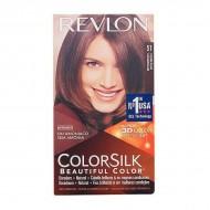 Barva bez amoniaku Colorsilk Revlon - Světlohnědá, Nº 51
