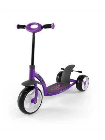 Dětská koloběžka Milly Mally Crazy Scooter purple