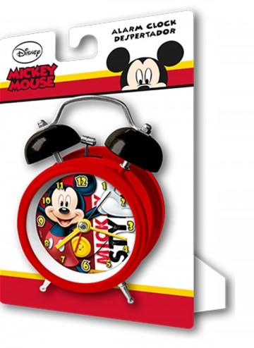 Kovový budík Mickey 9 cm