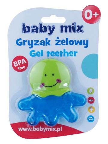 Chladiace hryzátko Baby Mix chobotnica