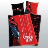HERDING Povlečení Spiderman červený Bavlna, 140/200, 70/90 cm