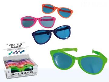 Obří párty brýle - kombinace barev