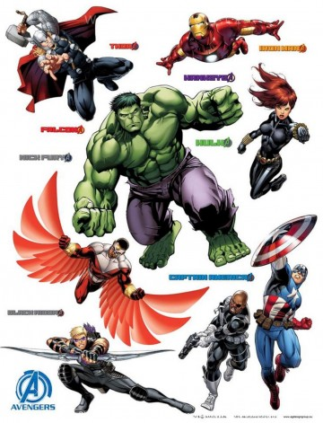 Falmatrica Avengers MAXI