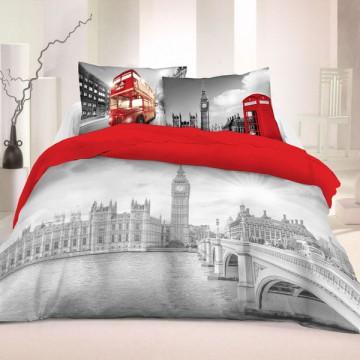 Povlečení Londýn Life Style 220/200, 2x70/80
