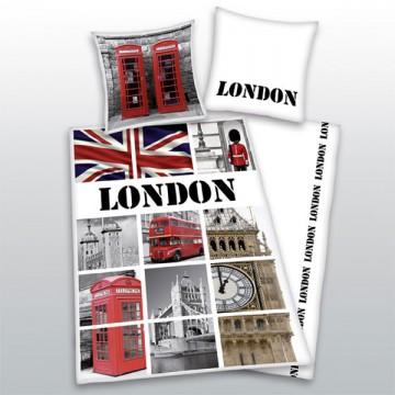Povlečení Londýn vlajka 140/200