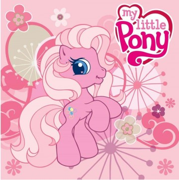 Magický ručníček My Little Pony růžový 30/30