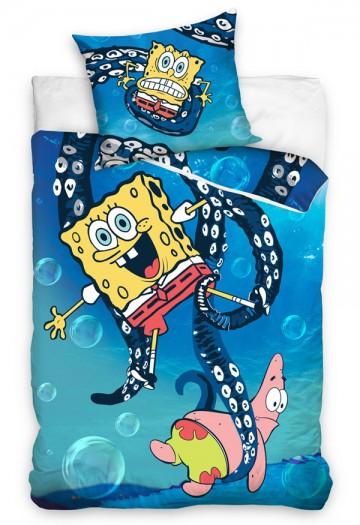 Povlečení SpongeBob Chobotnice 140/200, 70/80