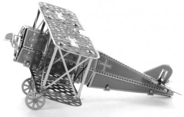 Kovové 3D puzzle - Dvouplošník