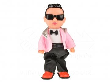Păpușă băiat Gangam style - roz (32cm)