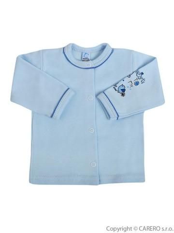 Kojenecký kabátek Bobas Fashion Benjamin modrý