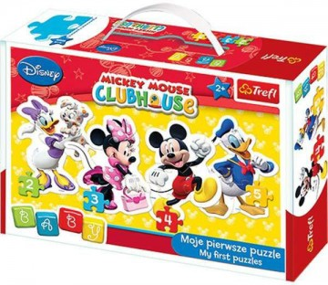 Baby Puzzle Mickey Mouse 4in1