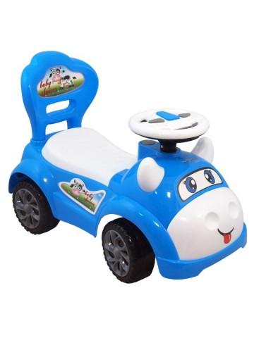 Jezdítko Baby Mix Kravička modrá