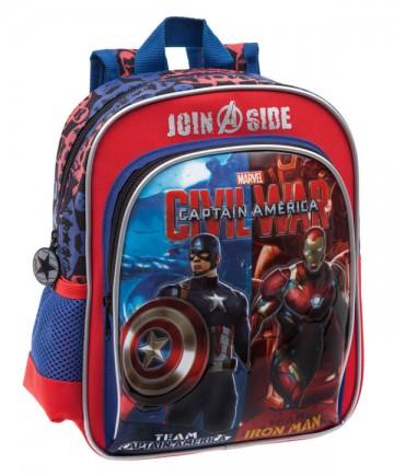 Junior batoh Kapitán Amerika 28 cm