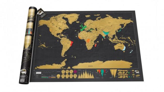 Kaparós térkép világutazóknak   - deluxe edition