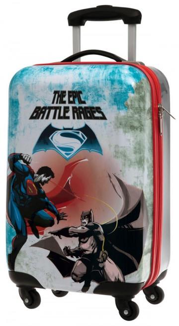 Cestovní kufr ABS Batman vs Superman 55 cm