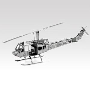 Helikopter - összerakható fém modell