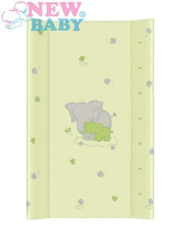 Prebaľovacia podložka New Baby Sloník zelená 70x50