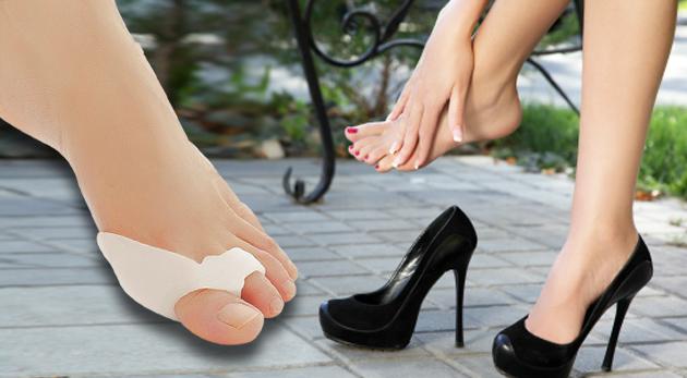 Silikonový prstový fixátor pro zmírnění bolesti nohou