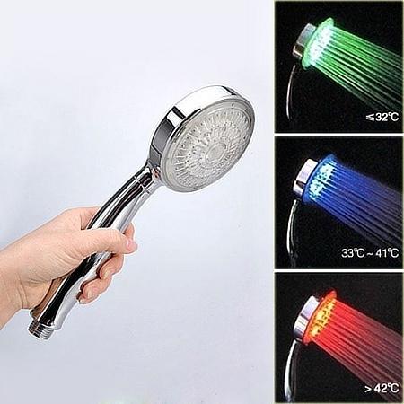 Tegye élvezetesebbé a zuhanyzást a világító zuhanyfejjel. Működésükhöz az  átáramló víz energiáját használják fel 04dbd41822