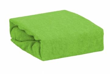 Froté dvoulůžko - Zelená