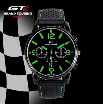 Hodinky GT Grand Touring zelené