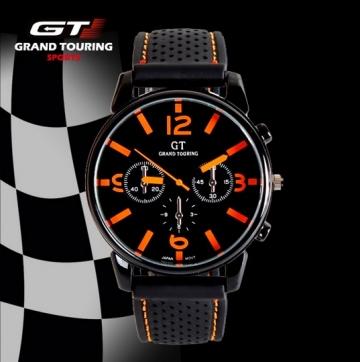 Hodinky GT Grand Touring oranžové