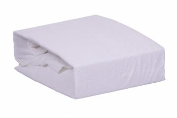 Froté jednolůžko - Bílé